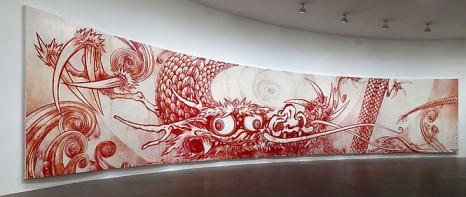 Картина Такаши Муроками японская живопись