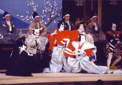 Театр кабуки интеллигентность Японии