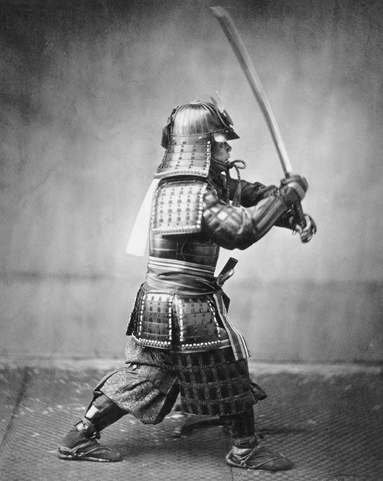 Самурай фото 1860