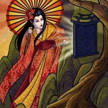 Аматерасу богиня солнца