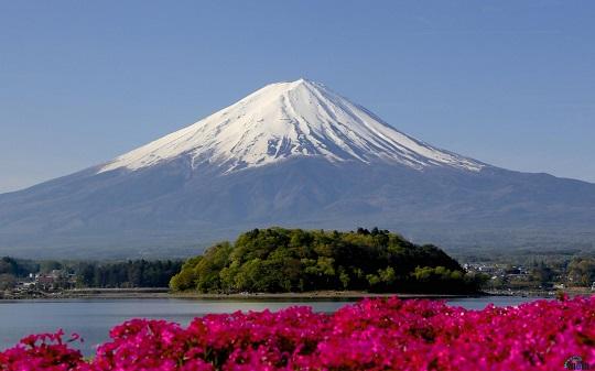Фото горы Фудзияма, Япония